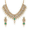 Sukkhi Spectacular Kundan Gold Plated Pearl Choker Necklace Set for Women