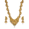 Sukkhi Antique Kundan Gold Plated Long Haram Necklace Set for Women