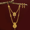 Sukkhi Trendy Gold Plated Long Haram Jalebi Necklace Set for Women