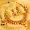 Sukkhi Bollywood Collection Elephant Inspired Gold Plated Necklace Set for Women