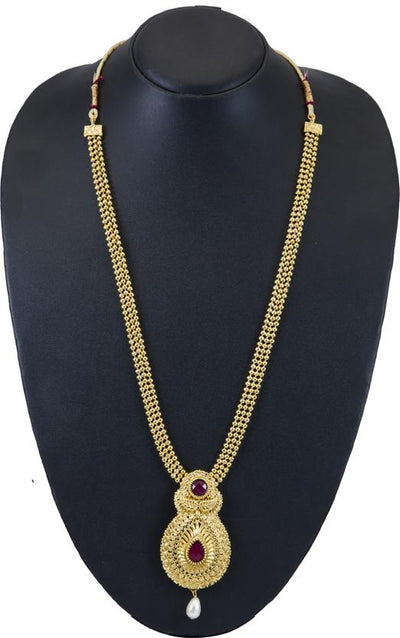 Sukkhi Graceful Gold Plated Traditional Necklace Set For Women