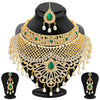 Sukkhi Exotic Gold Plated AD Necklace Set For Women