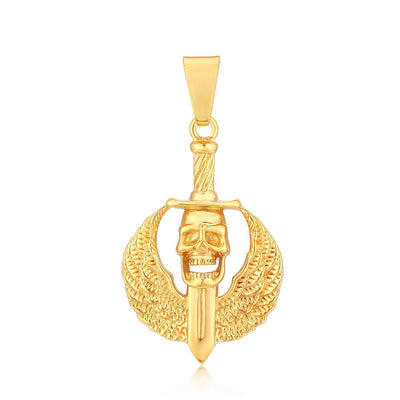 Sukkhi Lavish Gold Plated Pendant for men