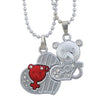 Sukkhi Ritzy Broken Heart Tedy Double 2pcs Pendat For Men