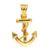 Sukkhi Fancy Gold Plated Captivating Anchor Pendant With Chain For Men