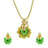 Sukkhi Glorious Gold Plated Pendant Set for Women