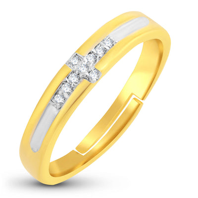 Sukkhi Modern Gold Plated Ring For Women