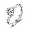 Sukkhi Trendy Valentine Heart Cubic Zirconia Rhodium Plated Ring for Women - 8