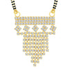 ShoStopper Marvellous Gold Plated Austrian Diamond Mangalsutra Pendant