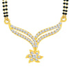 ShoStopper Angelic Gold Plated Austrian Diamond Mangalsutra Pendant
