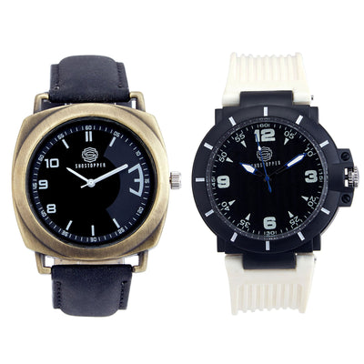 Shostopper Vintage Collection Combo Watches for Mens SJ163WCB