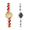 Shostopper Vintage Collection Combo Watches for Womens SJ273WCB
