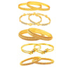 Shostopper Jewellery Combo Of Five Trendy Traditional Bangles Set For Women and Girls