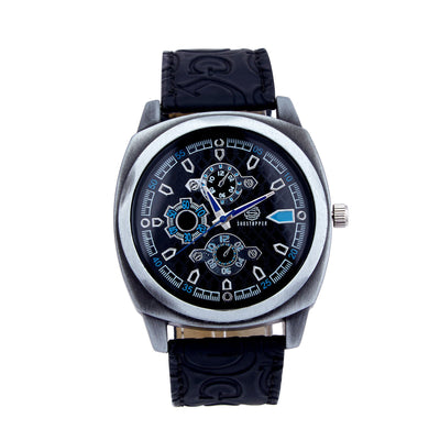 Shostopper Splended Navy Blue Dial Analogue Watch For Men - SJ60013WM