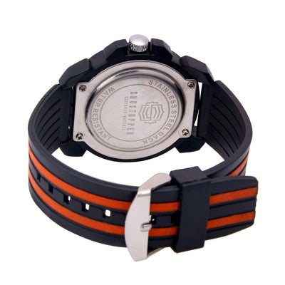 Shostopper Candy Sporty White Dial Analogue Watch For Men - SJ60055WM-3