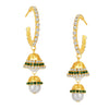 ShoStopper Exotic Gold Plated Austrian Diamond Earring