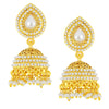 Shostopper Gold Plated Jhumki Earrings For Girls And Women