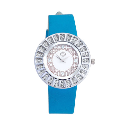 Shostopper Glittery White Dial Analogue Watch For Women - SJ62009WW