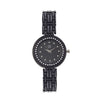 Shostopper Black Beauty Black Dial Analogue Watch For Women - SJ62058WW