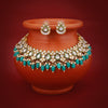 Sukkhi Astonish Gold Plated Kundan Choker Necklace Set for Women