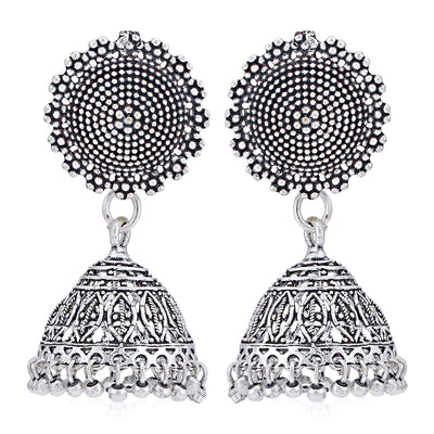 Sukkhi Tibale Oxidised Jhumki Earring for Women