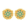 Sukkhi Adorable Gold Plated LCT & Pearl Stud Earring for Women