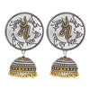 Sukkhi Eye-Catching Oxidised Jhumki Earring for Women