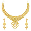 Sukkhi Delightful 24 Carat Gold Plated Choker Necklace Set for Women
