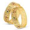 Sukkhi Glorious 24 Carat Gold Plated Meenakari Bangle Set for Women