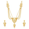 Sukkhi Lovely 24 Carat Gold Plated Multi-String Necklace Set for Women