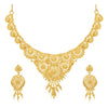 Sukkhi Ravishing 24 Carat Gold Plated Choker Necklace Set for Women