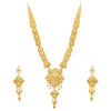 Sukkhi Ethnic 24 Carat Gold Plated Long Haram Necklace Set for Women