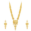Sukkhi Amazing 24 Carat Gold Plated Long Haram Necklace Set for Women