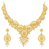 Sukkhi Stunning 24 Carat Gold Plated Choker Necklace Set for Women