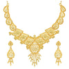 Sukkhi Fascinating 24 Carat Gold Plated Choker Necklace Set for Women