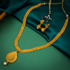 Sukkhi Moddish Jalebi Design Gold Plated Necklace Set For Women