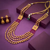 Sukkhi Exquitely  5 String Gold Plated Necklace Set For Women