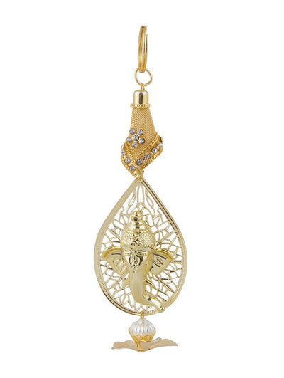 Sukkhi Exclusive All Golden Ganesha Wall Hanging