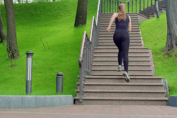 Got 15 Minutes? Hit The Stairs With This Plan