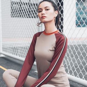 JULIE LONG SLEEVE TOP
