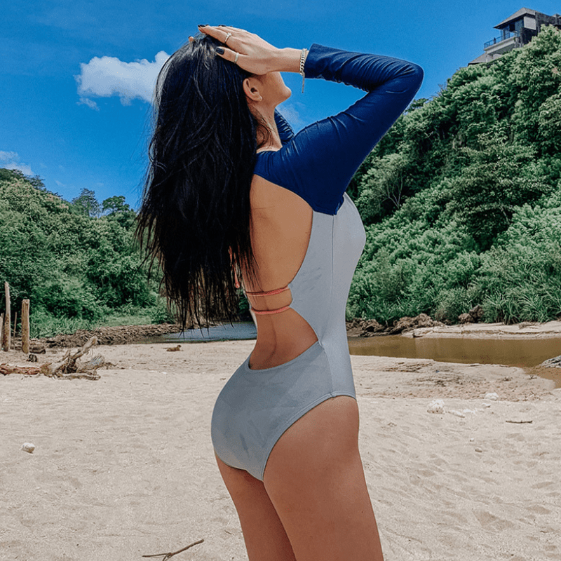LIFE IN BLUE SWIMSUIT