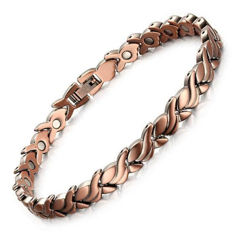 Women Health Care Pure Copper Ankle Magnetic Bracelet for Arthritis