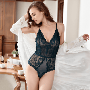 ALMOST IS NEVER ENOUGH LACE TEDDY