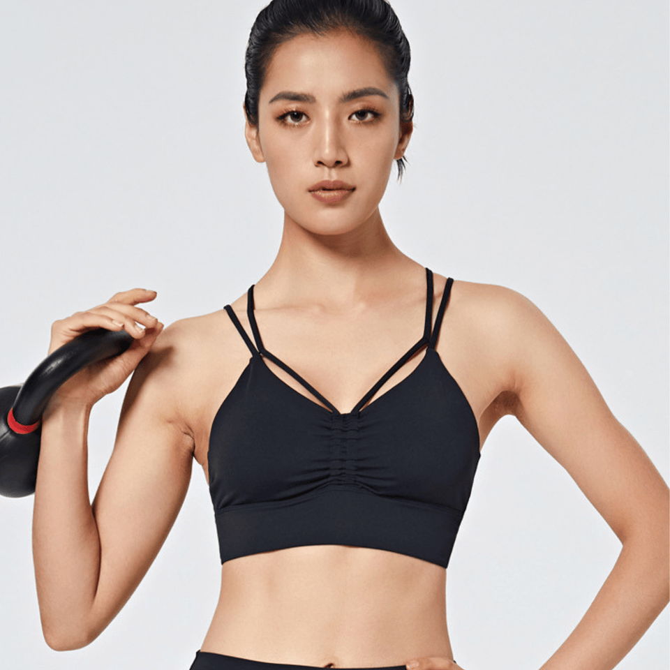 HEARD IT ALL SPORTS BRA