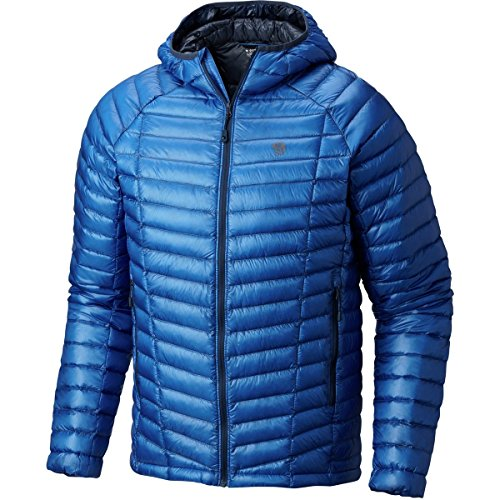Mountain Hardwear Ghost Whisperer Hooded Down Jacket - AW17 - Medium - Blue