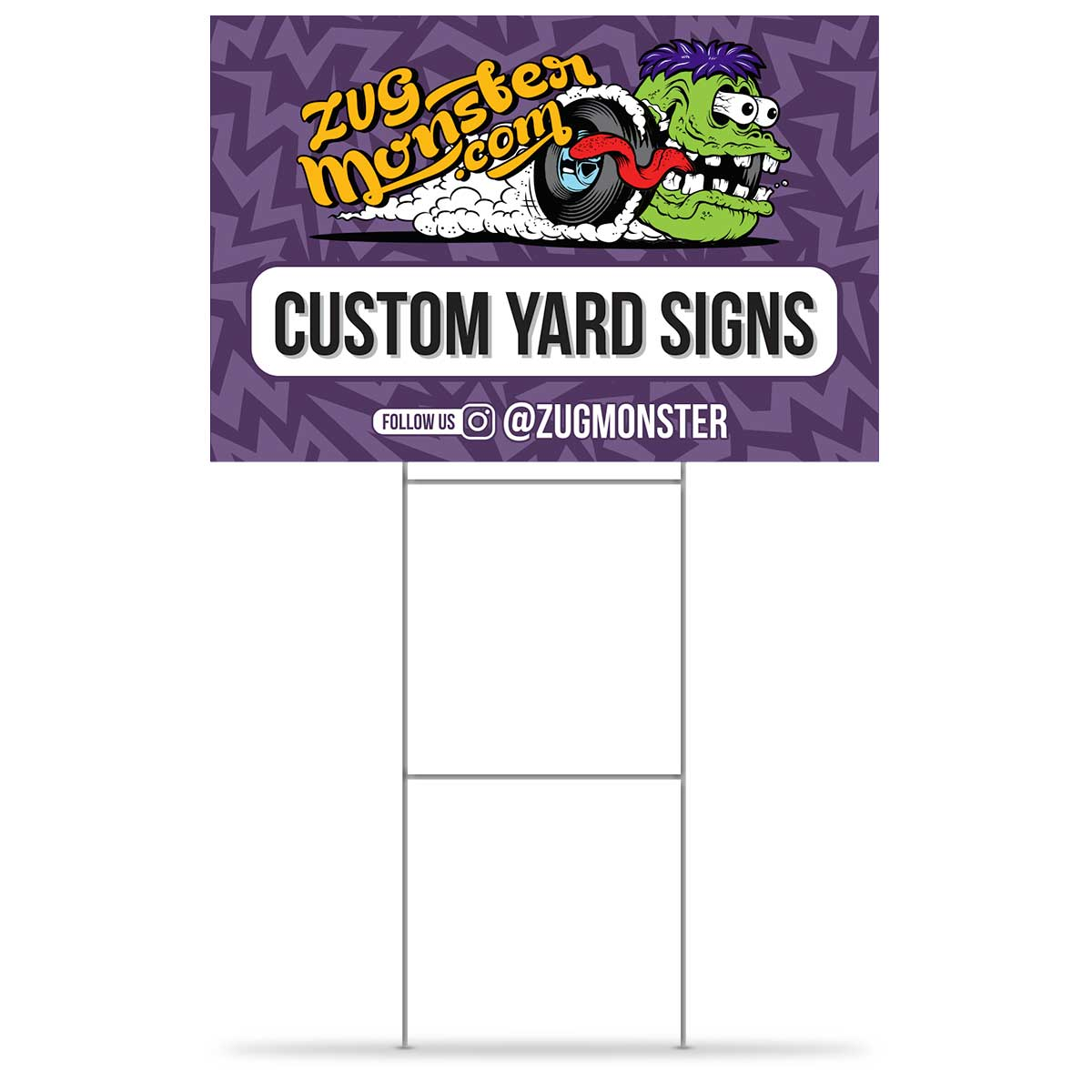 Single Sided Yard Signs