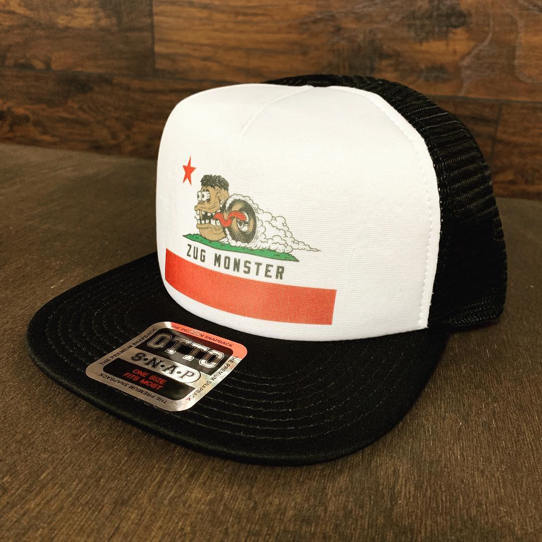 ZUG Monster / California Flag Trucker Hat