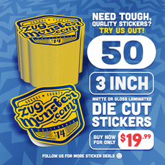 50 Stickers for $19.99
