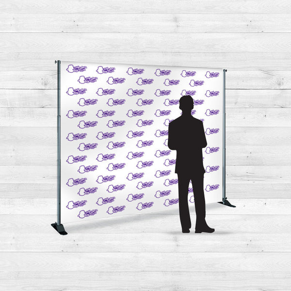 8ft x 8ft Step and Repeat