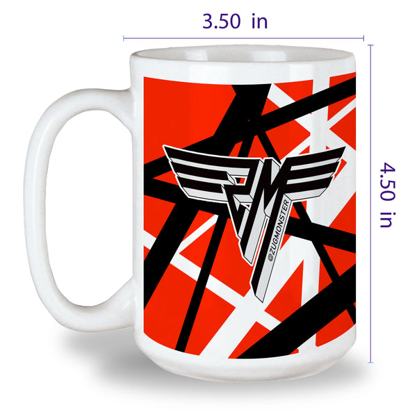Custom Printed - 15oz. White Mug